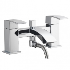 Vermont Bath Shower Mixer & Kit (2 Hole)