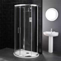 6mm 'D' Shaped Enclosures with Easy-Clean Glass including Tray