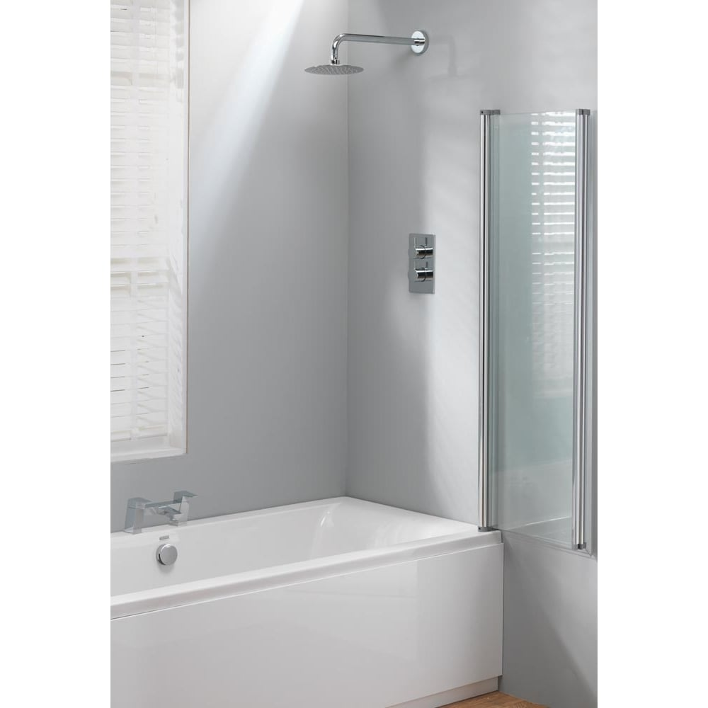 bath screen 1400 x 860mm classic from amazing bathroom supplies uk
