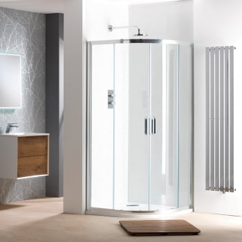 Classic Nouveau 6mm 2 Door Quadrant Enclosures with Easy-Clean Glass
