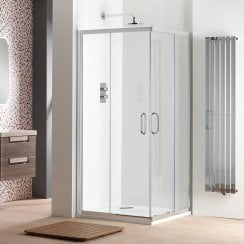 6mm Corner Entry Enclosures with Easy-Clean Glass