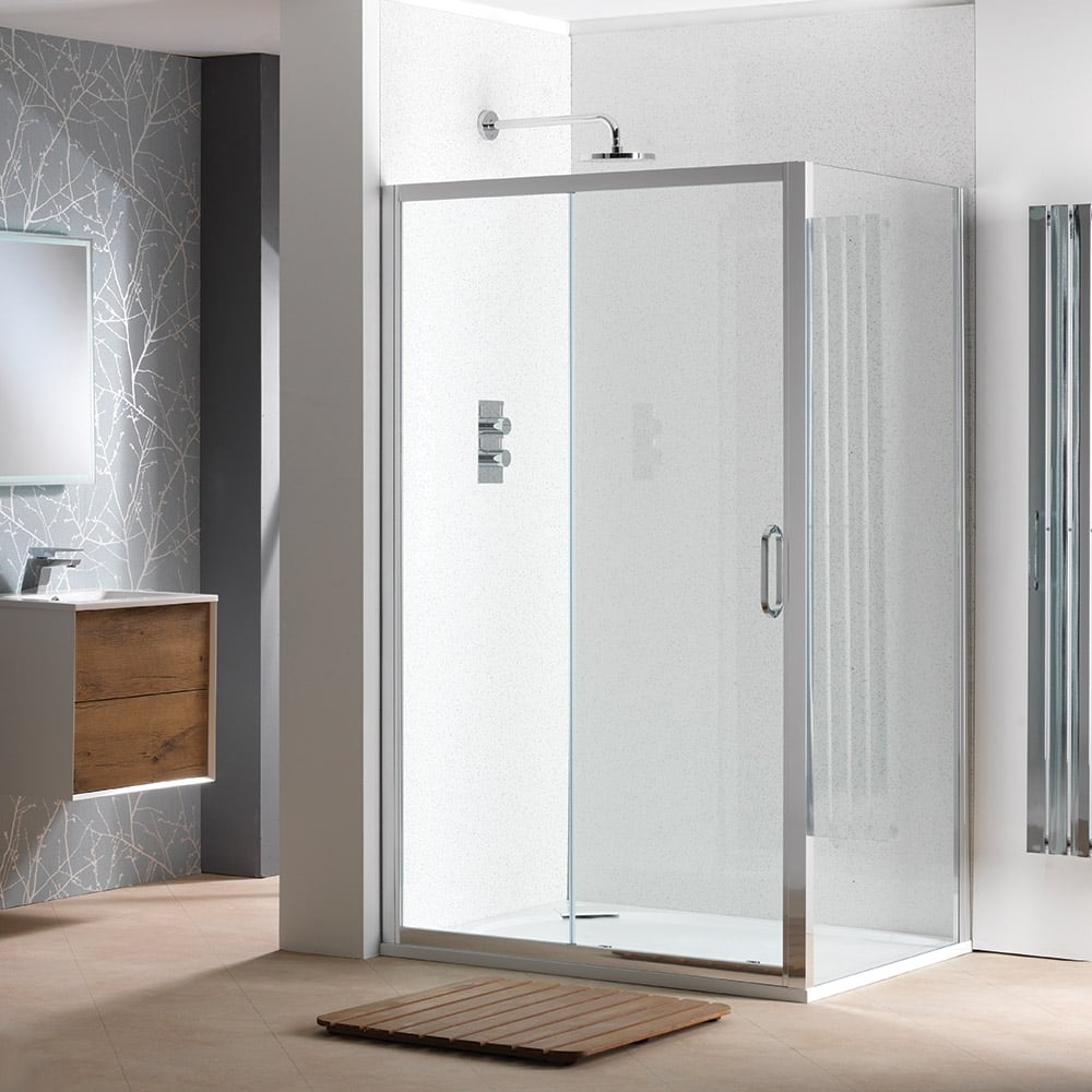 Classic Nouveau 6mm Sliding Doors With Easy Clean Glass Classic Nouveau From Amazing Bathroom