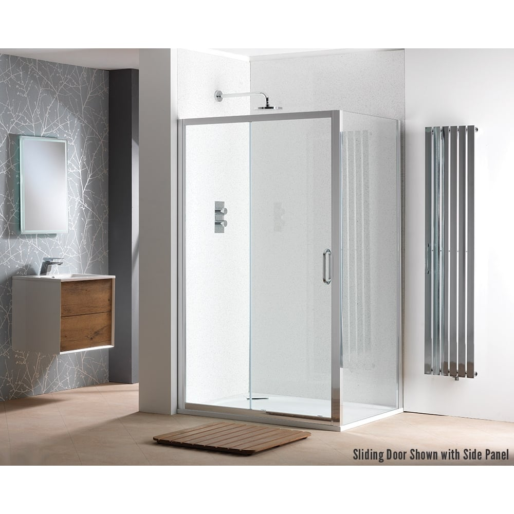 Classic Nouveau 6mm Sliding Doors With Easy Clean Glass Classic