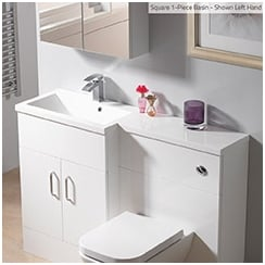 Q-Line 1-Piece Basin Options