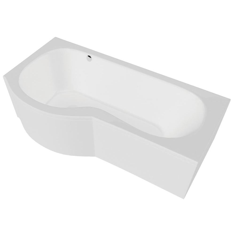 California P Shaped Shower Bath Only Standard Superspec
