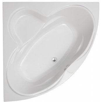 Genesis Colorado Corner Bath & Panel with Option 2 Whirlpool - 1400 x 1400mm