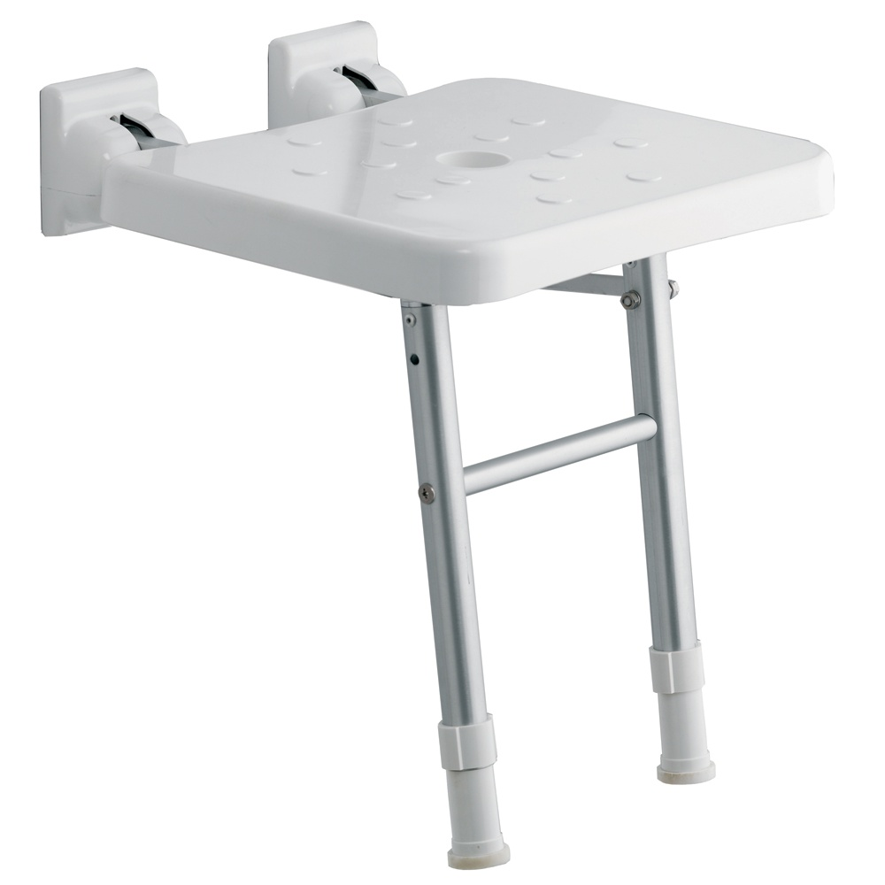 Genesis Comfort Fold-Up Shower Seat with Legs - Genesis from Amazing ...