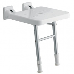 Comfort Fold-Up Shower Seat with Legs