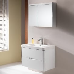 Eton 80 Wall-Hung Base Unit & Basin