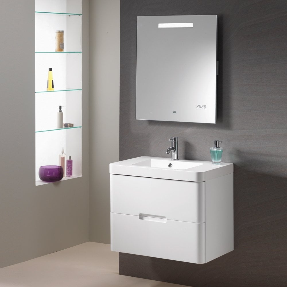 Genesis Deluxe Eton Wall Hung Base Unit and Basin - Genesis Deluxe ...