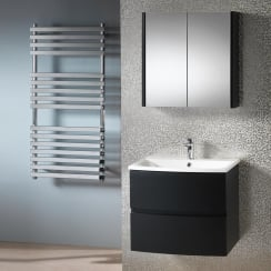 Oregon 600mm Wall-Hung Base Unit & Basin
