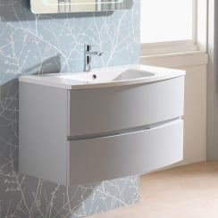 Oregon 900mm Wall-Hung Base Unit & Basin