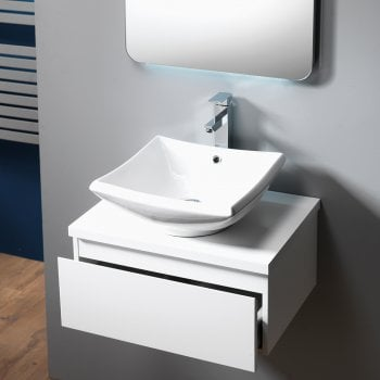 Genesis Deluxe Urban 60 Base Unit, Worktop & Basin