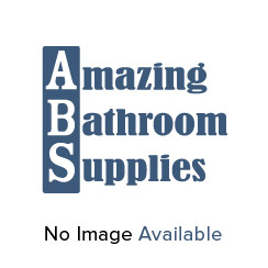 Ebony Square Twin Thermostatic Shower Valve with 2 Outlets (controls 2 functions)
