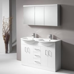 Eden 1200mm Base Unit & Double Basin