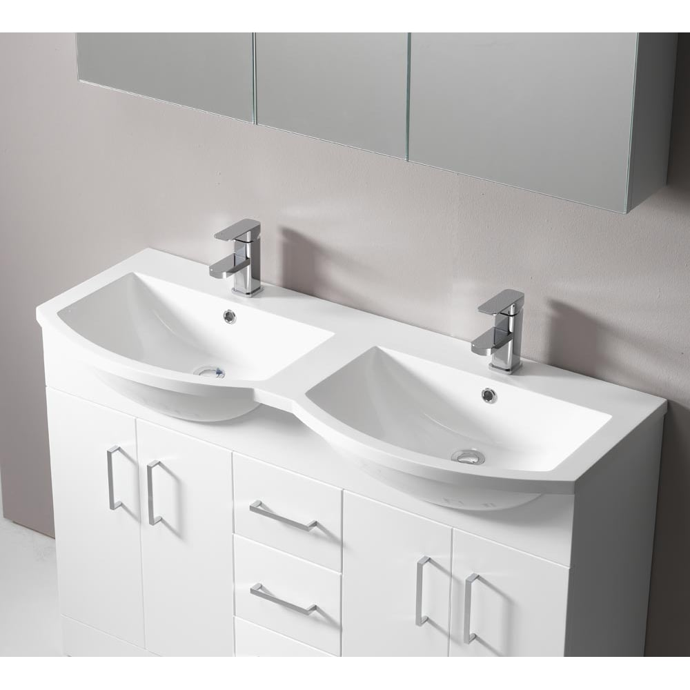 unique 60 double bathroom sink units uk decorating