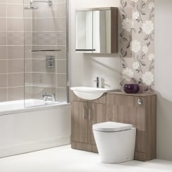 Eden 1200mm Slimline Base Unit &  WC Unit Combination - 250mm Depth
