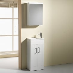 Eden 400mm Base Unit & Basin - 250mm Depth (can also be used with WC Unit)