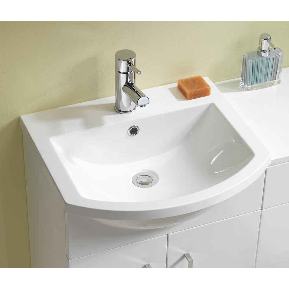 Genesis Eden 500 Amp 600mm Base Units Amp Basins 350mm Depth Can Also Be Used With Wc Unit
