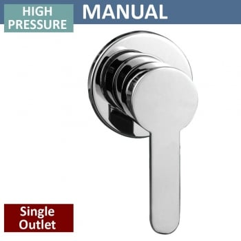 Genesis Modern Manual Shower Valve - 1 Outlet (controls 1 function)