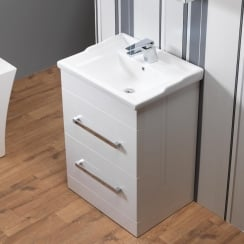 Monica 600mm Base Unit & Nostalgic Basin