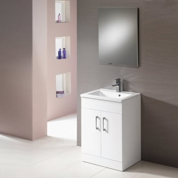 Genesis Monica Base Unit and Basin - 500mm to 900mm