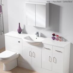 Centre 1-Piece Basin Options