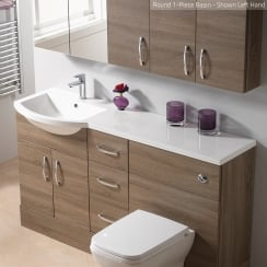 Round 1-Piece Basin Options