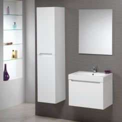 Radius 60 Wall Hung Base & Radius Basin