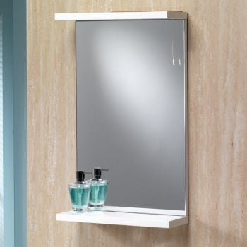 Genesis Richmond 550mm Mirror with Shelf & Light