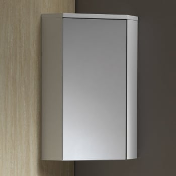 Genesis Richmond Corner Mirrored Wall Cabinet Genesis From Amazing Bathroom Supplies Uk