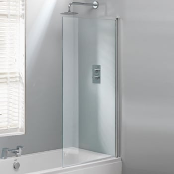 Genesis Square Bath Screen - 1500 x 800mm
