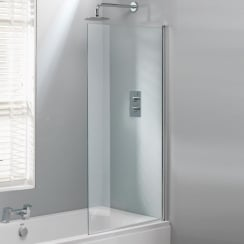 Square Bath Screen - 1500 x 800mm
