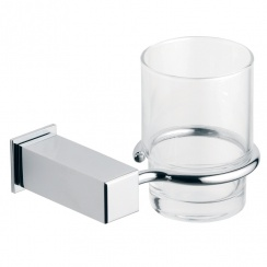 Utah Glass Cup & Holder