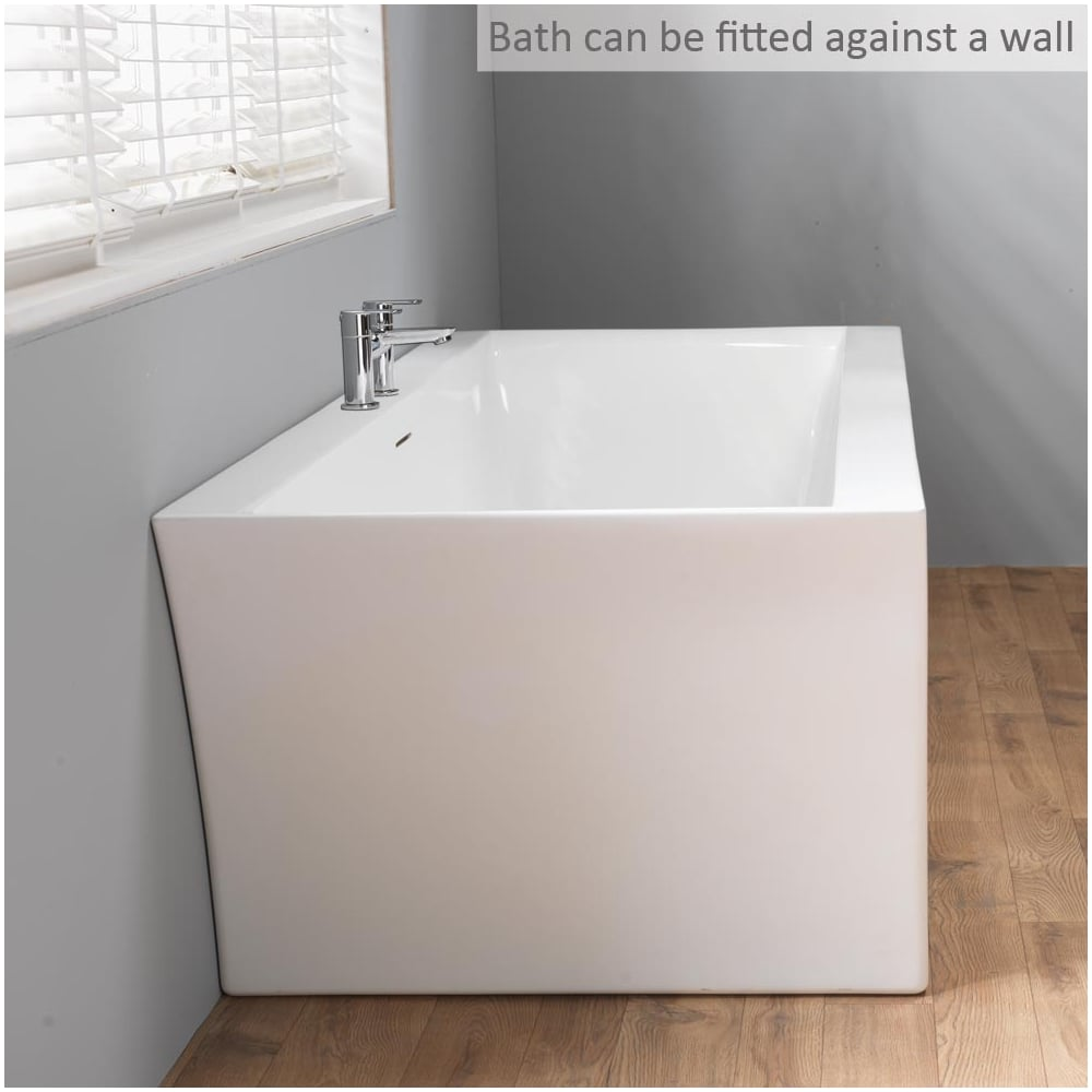 Iconic charlotte freestanding bath 1800 x 800mm iconic for Bath 1800