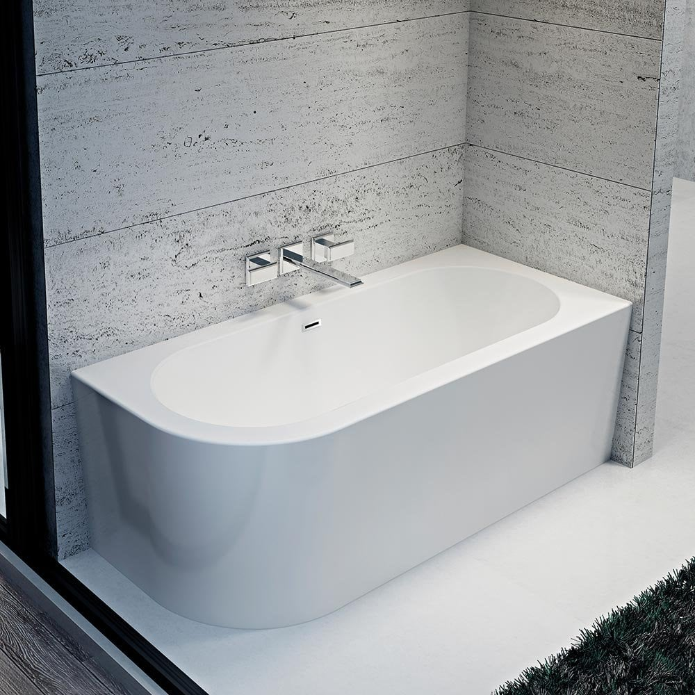 Iconic Como Freestanding Offset Corner Bath