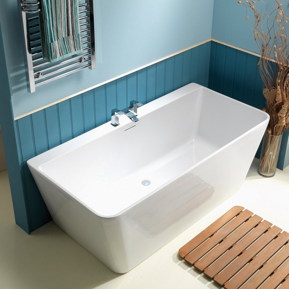 iconic cornell freestanding bath 1650 x 790mm iconic