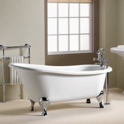Diana Slipper Freestanding Bath - 1600 x 740mm & 1700 x 750mm