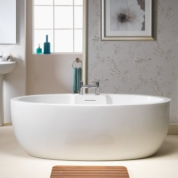 bathroom supplies. Iconic Opal Freestanding Bath  1700 X 840mm From Amazing