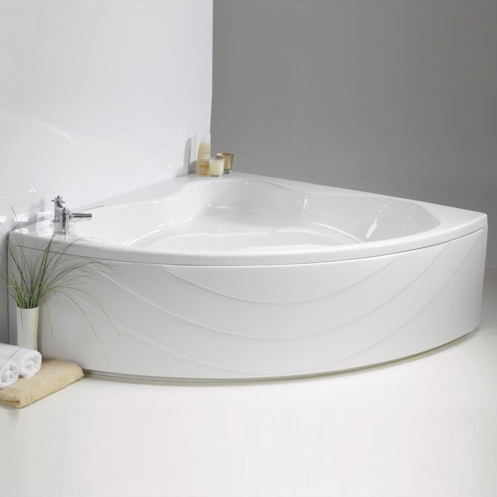 Contura Corner Bath and Panel - 1490 x 1490mm - from ...