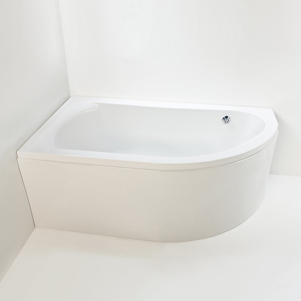 Elegancia Corner Bath And Panel
