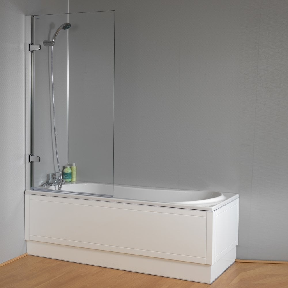 Isede Shower Bath Front Panel And Screen 1700mm