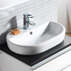 Caspia 600 x 420mm Oval Vanity Basin