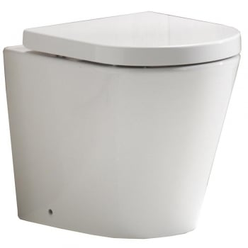 QX Opal Rimless Back-to-Wall Pan & Soft Close Seat*