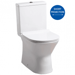 Venice Rimless WC including Soft Close Seat