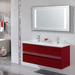 Jazz 1200mm Furniture Combination with Cool Ceramic Basin