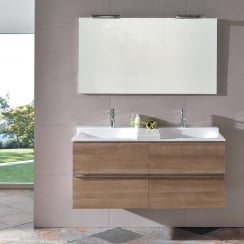 Jazz 1200mm Furniture Combination with Open Acrylic Basin